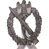 Infantry assault badge in silver R.S-Rudolf Souval