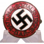 NSDAP early member badge by Kerbach and Israel in Dresden. Pre RZM