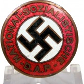 NSDAP party member badge, early GES. GESCH issue
