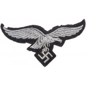 Enlisted ranks Luftwaffe breast eagle on the felt base