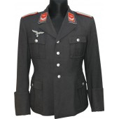 Luftwaffe flak lieutenant tunic belonged to LTN Rintz