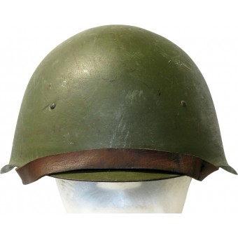 Soviet Russian Steel Helmet -Ssch 40, wartime issue. Espenlaub militaria