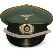 Wehrmacht cavalry or armored reconnaissance visor hat