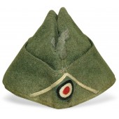 Wehrmacht's infantry field side cap M38. Salty condition