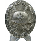 Friedrich Orth Wound badge in silver L/14 marked