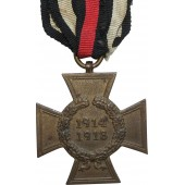 Hindenburg cross, 1914-18, without swords, Ad.B.L.
