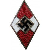 Hitler Jugend badge, 3rd Reich, marked М 1 /90 RZM