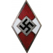 Hitler Jugend, HJ member's badge, made by М 1 /9 RZM