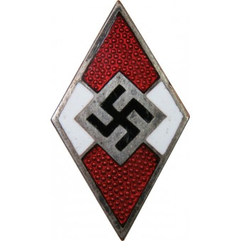 Hitler Jugend, HJ members badge, made by М 1 /9 RZM. Espenlaub militaria