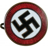 Nazi party sympathizer badge. Early, prior to 1933 year