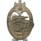 "PAB- Panzer Assault badge ""AS"" - Adolf Schwerdt"