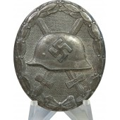 Wound Badge in Silver by Hauptmünzamt, Wien