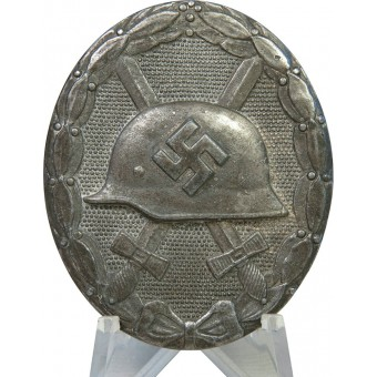 Wound Badge in Silver by Hauptmünzamt, Wien. Espenlaub militaria