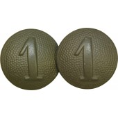 1st Company tunic buttons for WH shoulder straps