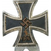 "Iron Cross, 1st CLass, 3rd Reich, marked ""20"" - C.F. Zimmermann Pforzheim"