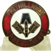 3rd Reich FAD member badge, RZM 75