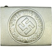 3rd Reich Police aluminum buckle