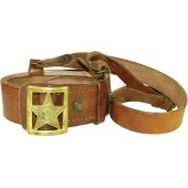 General's leather belt, M35.