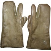 Rubber protect gloves, 1940, RKKA