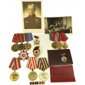 Set of awards and documents for Latvian RKKA commander