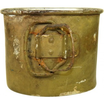 Battlefield found alu cup for water bottle, HRE 42. Espenlaub militaria