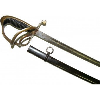 Bavarian cavalry sabre, beginning of 20th century, etched K.B. I Train Bataillon. Espenlaub militaria