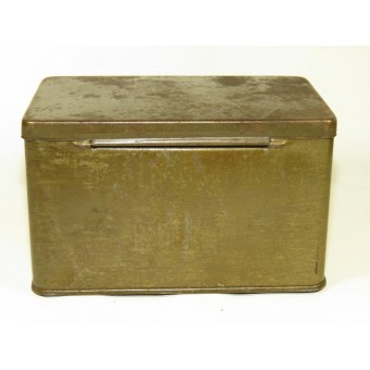 Dust Protective dispatch riders goggles tin box. Espenlaub militaria