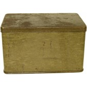 Dust Protective dispatch rider's goggles tin box