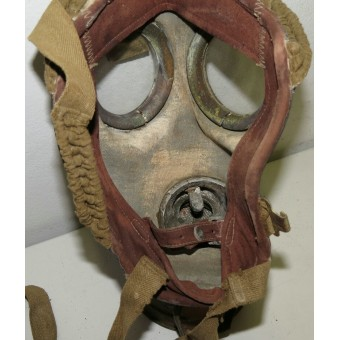 Estonian ARS made Dräger system gasmask with bag. Espenlaub militaria