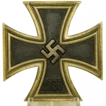 Iron Cross, 1st class, EK1, 1939, marked 65.. Espenlaub militaria