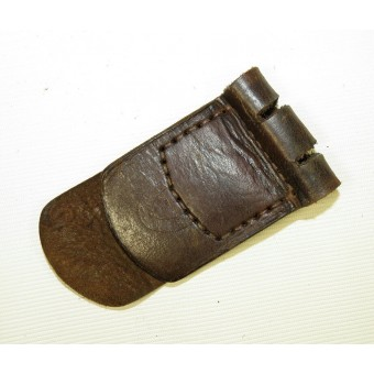 Leather tongue for Wehrmacht Heer buckle. Espenlaub militaria