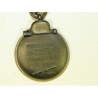 Medal WIO 1941-42 year. Excellent condition. Early type. Espenlaub militaria