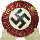 NSDAP badge, transitional type, RZM 39