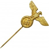 NSDAP servant badge on a pin, 3 type.