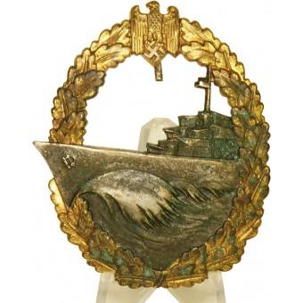 Zerstörerkriegsabzeichen, Destroyer War Badge, GWL. Espenlaub militaria