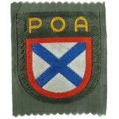 III Reich. Russian liberation army POA sleeve patch