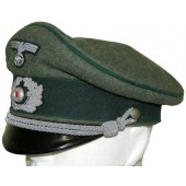 Wehrmacht's administrative and financial service visor hat