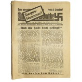 One month afterwards of Anschluss- the annexation of Austria by 3rd Reich