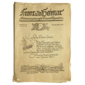 """Soldiers newspaper  """"Front and Motherland"""""""