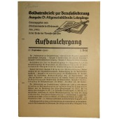 The job textbook for Wehrmacht soldiers for  free time reading.