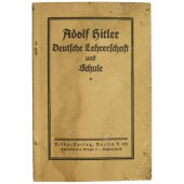 "Adolf Hitler  ""German teachers and school"""