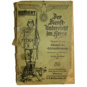 Wehrmacht: instruction for the soldier in rifle company