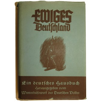 3rd reich propaganda book- Eternal Germany- Ewiges Deutschland. Espenlaub militaria