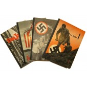 The Germany with Hitler, the almanac with 4 volumes showing the progress in the Third Reich