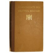 "Documents of the 3rd Reich ""Dokumente des Dritten Reiches"""