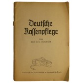 """Deutsche Rassenpflege"" - German race care, the German soldier's booklet"