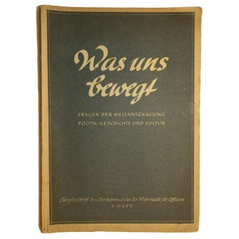 """Library From the knapsack- """"What drives us"""". Espenlaub militaria"""