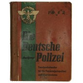 "The notebook of german Police. ""Die Deutsche Polizei"" Taschenkalender"
