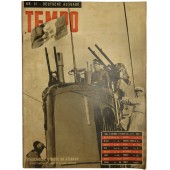 "German issue of fascists magazine ""TEMPO"", Nr.31, 27. November 1941"