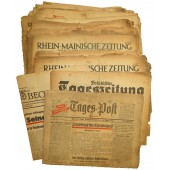 NSDAP issue newspapers set, 52 pcs.
